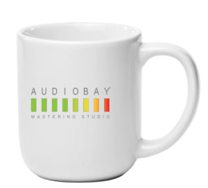 Audio Bay Mastering Coffee Mug Giveaway